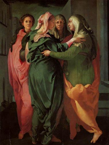 Jacopo da Pontormo - The Visitation