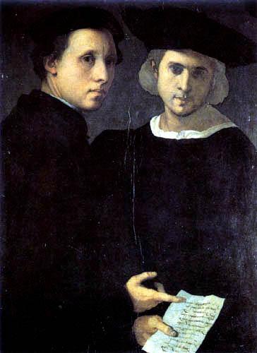 Jacopo da Pontormo - Portrait of a man