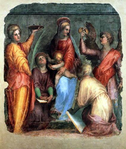 Jacopo da Pontormo - Sacra Conversazione