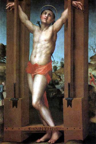 Jacopo da Pontormo - Saint Quentin