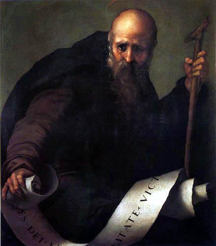 Jacopo da Pontormo - Saint Anthony