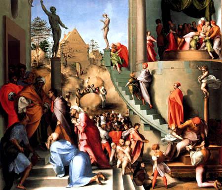 Jacopo da Pontormo - Joseph in Ägypten