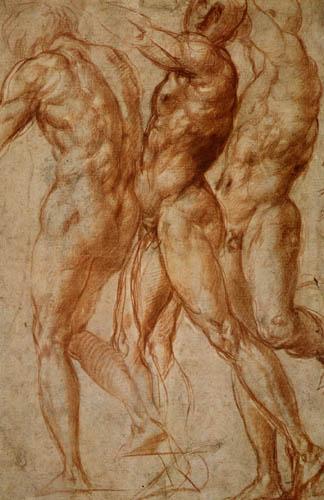 Jacopo da Pontormo - Studie zu Joseph in Ägypten