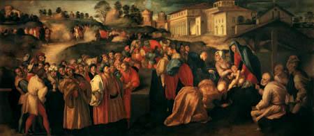 Jacopo da Pontormo - The Adoration of the Magi