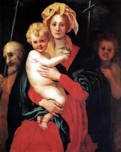Jacopo da Pontormo - The Holy Family