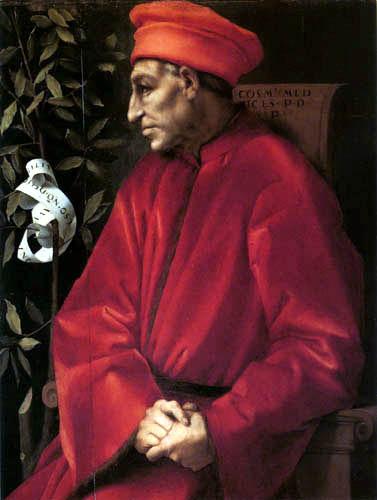 Jacopo da Pontormo - Portrait of Cosimo de´Medici II Vecchio