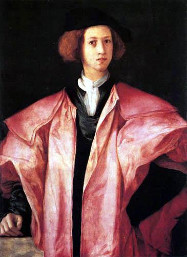 Jacopo da Pontormo - Portrait of a young man