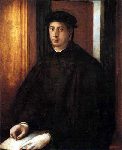 Jacopo da Pontormo - Portrait of Alessandro de´Medici