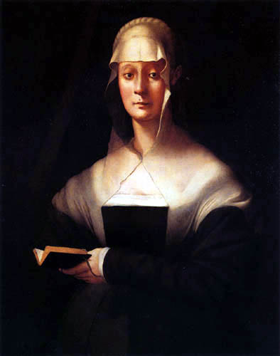Jacopo da Pontormo - Portrait of Maria Salviati