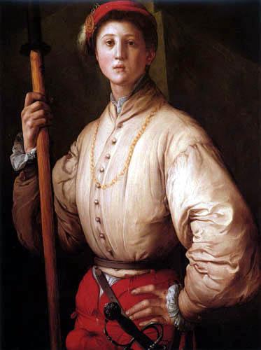 Jacopo da Pontormo - The Halberdier