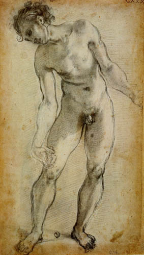 Jacopo da Pontormo - Männlicher Akt