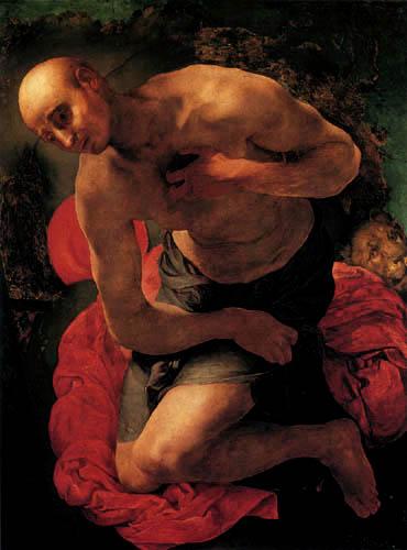 Jacopo da Pontormo - The Penitent Jeronimo
