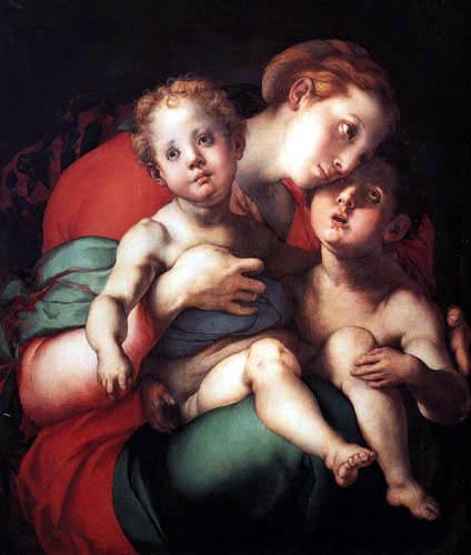 Jacopo da Pontormo - Madonna with child