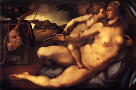 Jacopo da Pontormo - Venus and Cupid