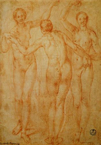 Jacopo da Pontormo - Three graces