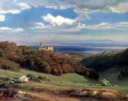 Eduard Wilhelm Pose - Castle Kronberg, Taunus