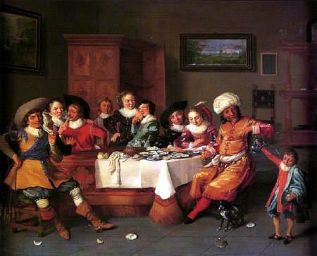 Hendrick Gerritsz Pot - Brothelscene