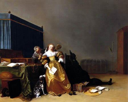 Hendrick Gerritsz Pot - Allegorie of the transience