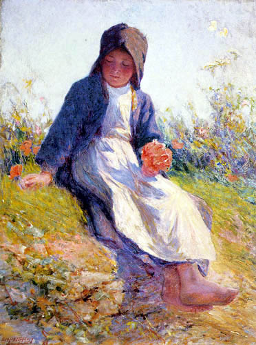 Edward Potthast - Sunshine