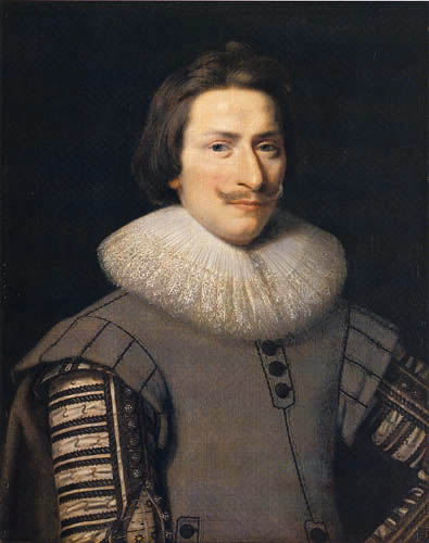 Frans Pourbus the Younger - Portrait of a man