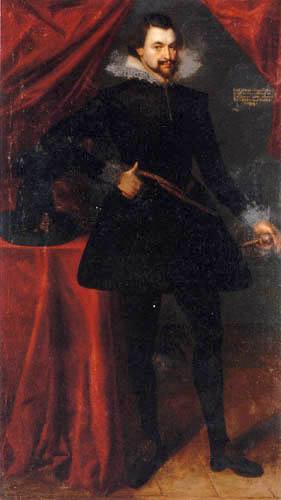 Frans Pourbus the Younger - Portrait of Ernst Margrave of Brandenburg