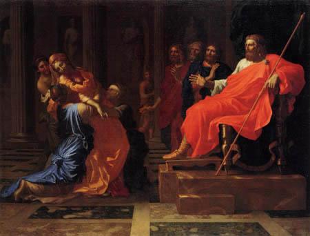 Nicolas Poussin - Esther vor Ahasver