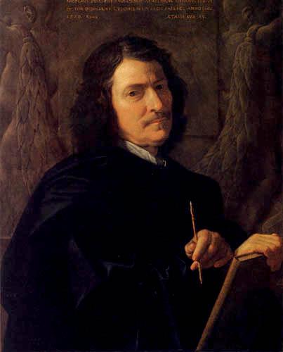 Nicolas Poussin - Selfportrait