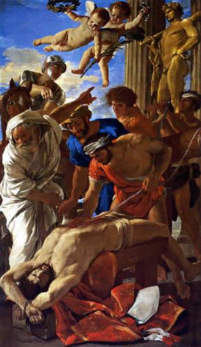 Nicolas Poussin - The Martyrdom of St. Erasmus