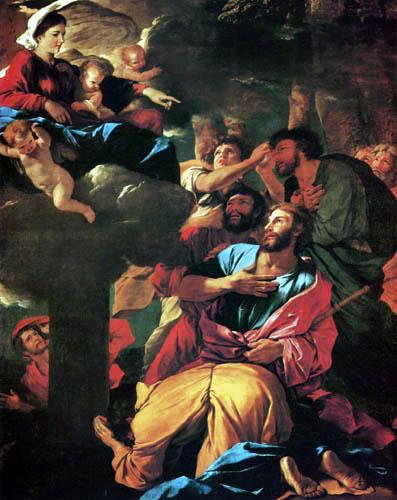 Nicolas Poussin - Maria erscheint dem hl. Jakobus