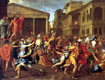 Nicolas Poussin - Rape of the Sabine Women