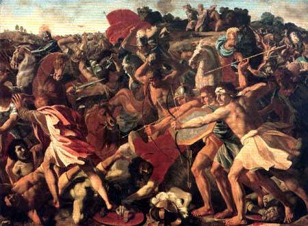 Nicolas Poussin - Joshua´s Victory over the Amalekites