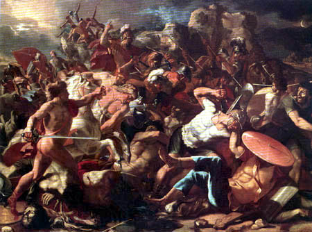 Nicolas Poussin - Joshua´s Victory over the Amorites