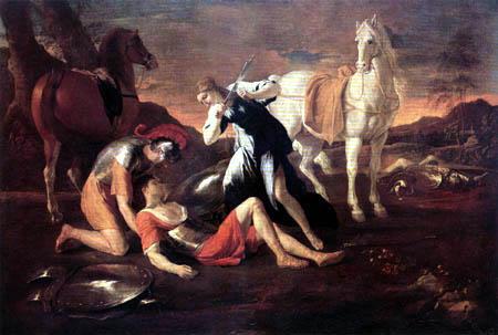 Nicolas Poussin - Tancred and Erminia