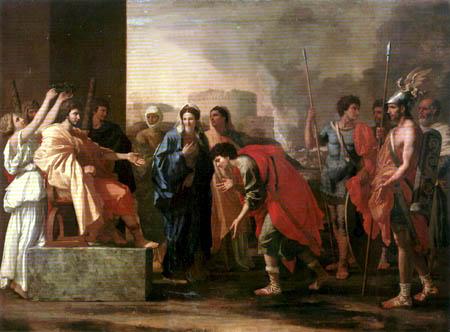 Nicolas Poussin - The magnanimity of Scipio