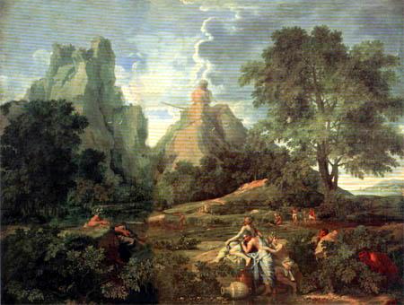Nicolas Poussin - Landschaft mit Polyphemus