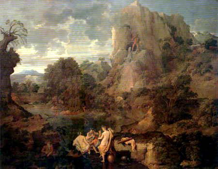 Nicolas Poussin - Landscape with Hercules