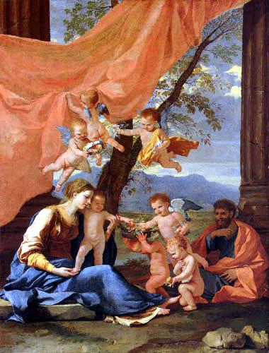 Nicolas Poussin - The holy Family