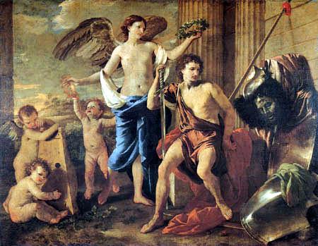 Nicolas Poussin - The Triumph of David