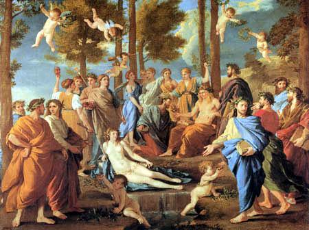 Nicolas Poussin - Mount Parnassus