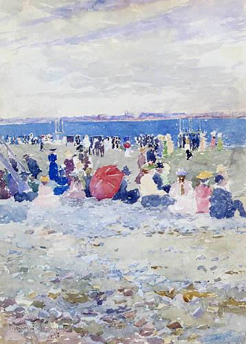 Maurice Brazil Prendergast - Revere Beach