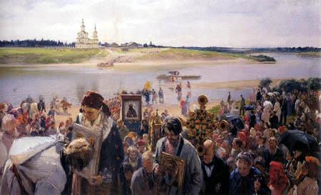 Illarion Prjanischnikow - The procession