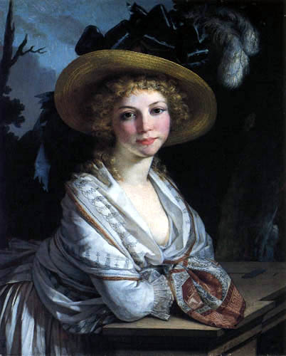 Pierre-Paul Prud´hon - Porträt einer jungen Frau