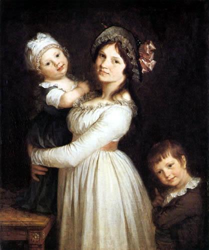 Pierre-Paul Prud´hon - Madame Georges Anthony mit ihren Kindern Frédi und Joseph