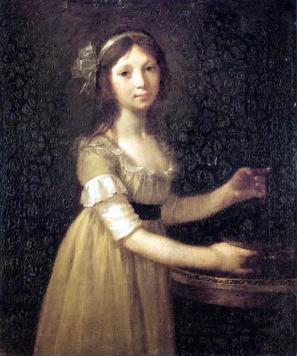 Pierre-Paul Prud´hon - Marguerite-Marie Lagnier im Alter von zehn Jahren