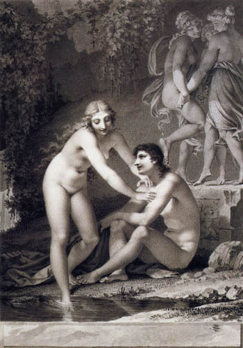 Pierre-Paul Prud´hon - Das Bad