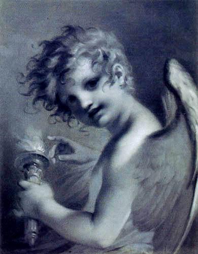 Pierre-Paul Prud´hon - Amor mit seiner Fackel