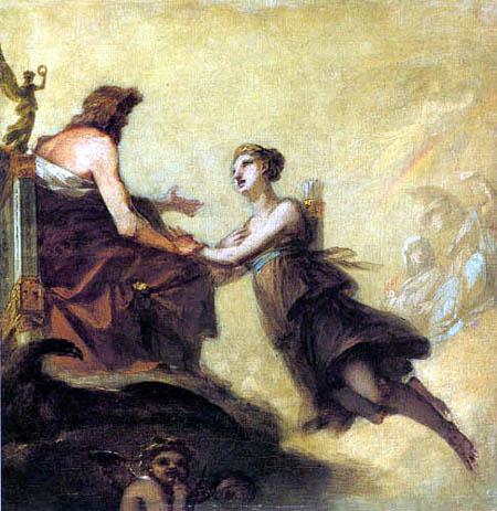 Pierre-Paul Prud´hon - Diana, die Jupiter anfleht