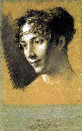 Pierre-Paul Prud´hon - Die Kaiserin Joséphine, Skizze
