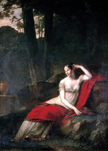 Pierre-Paul Prud´hon - Die Kaiserin Joséphine im Park Malmaison