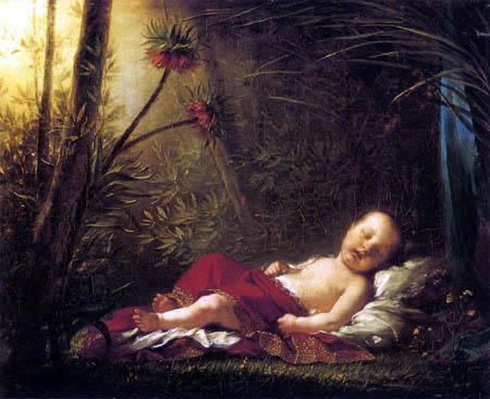 Pierre-Paul Prud´hon - Der eingeschlafene König von Rom
